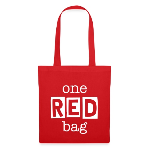 One Red Bag - Tote Bag