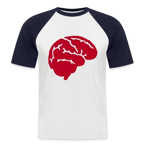 Cerebro - Camiseta béisbol manga corta hombre
