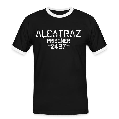 Alcatraz - Prisoner - Männer Kontrast-T-Shirt