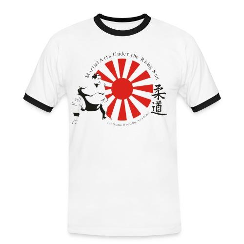 Sumo Wrestling - Männer Kontrast-T-Shirt