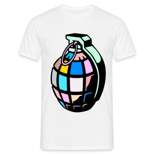 Grenade life  - Men's T-Shirt