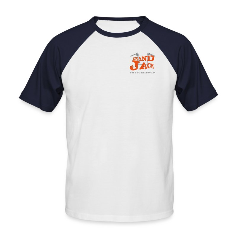 logotransp - T-shirt baseball manches courtes Homme