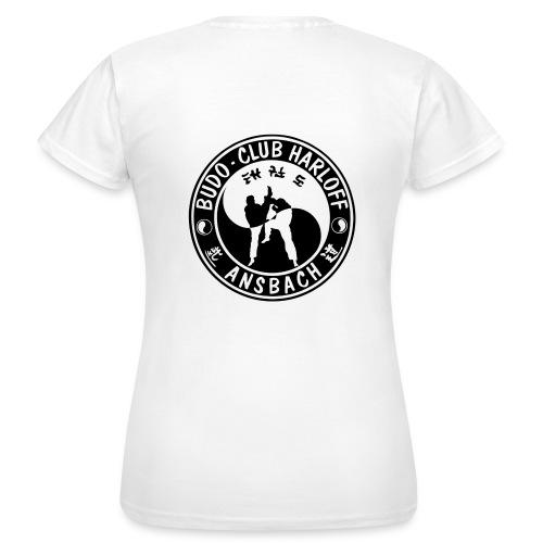 BCH - Woman Basic - Kurz (Logo Vorne und Hinten) - Frauen T-Shirt