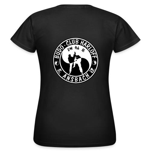 BCH - Woman Collor - Kurz (Logo Vorne und Hinten) - Frauen T-Shirt