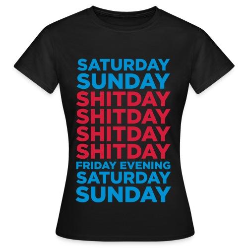 T-shirt semaine femme - T-shirt Femme