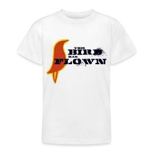 This Bird Has Flown - Teenage T-shirt