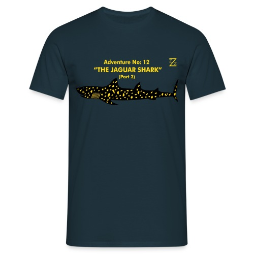 Adventure No.12 The Jaguar Shark - Men's T-Shirt