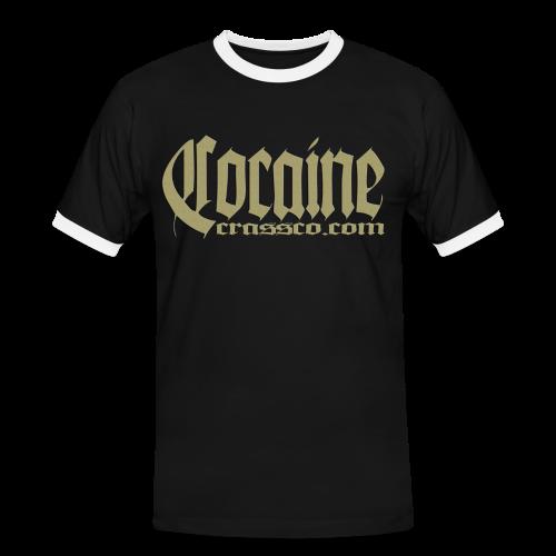 Cocaine - Männer Kontrast-T-Shirt