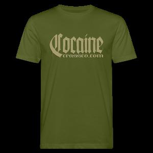 Cocaine - Männer Bio-T-Shirt
