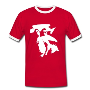 Fabulous Beatmashers Football Shirt red/white - Männer Kontrast-T-Shirt