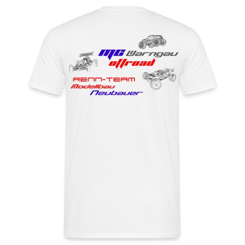 Rennteam T-Shirt - Männer T-Shirt