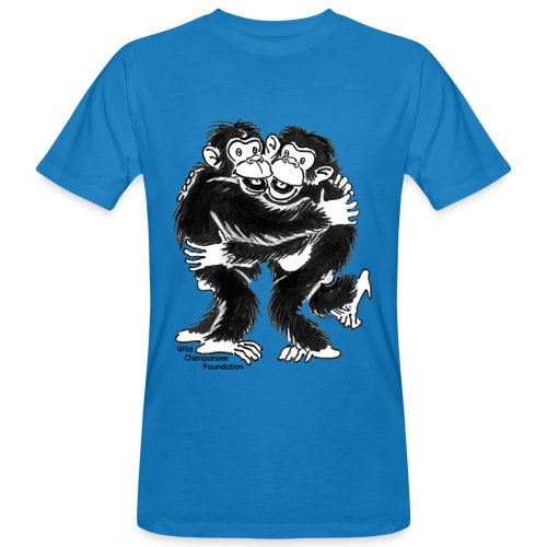 Chimpanzees Men Earth Positive Shirt - Men's Organic T-Shirt