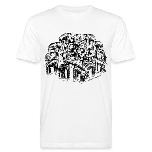 Chimpanzee Group Earth Positive Shirt - Men's Organic T-Shirt