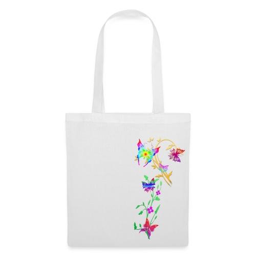butterflies multi coloured - Tote Bag