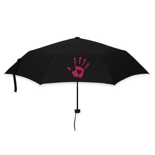 Heart hand logo umbrella - Umbrella (small)