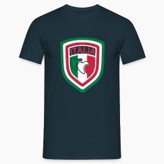 Navy scudetto_italia3 Men's T-Shirts