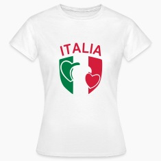 White scudetto_italia2 Women's T-Shirts