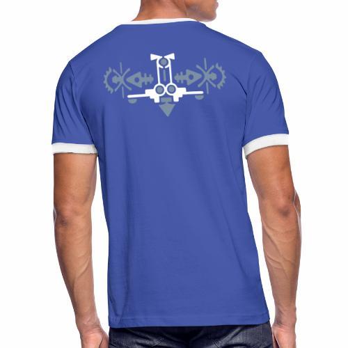 Vogel - Mannen contrastshirt