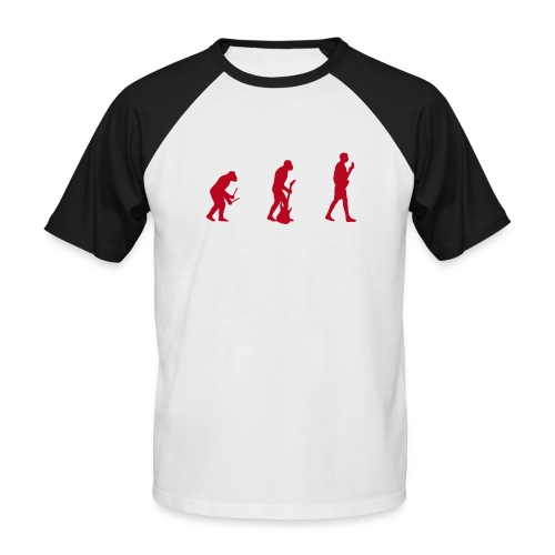 Evolution! - Männer Baseball-T-Shirt