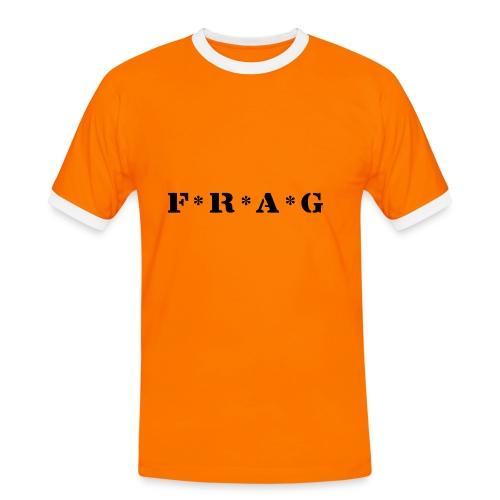 FRAG - Männer Kontrast-T-Shirt