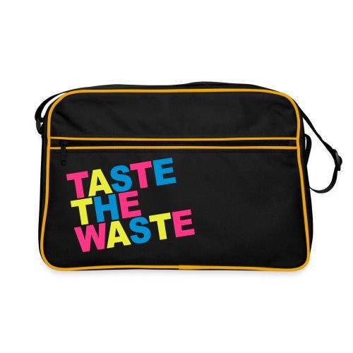 Taste the Waste - Retro Tasche