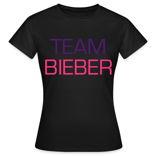 Team Bieber - Women's T-Shirt