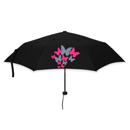 silver /pink /black  - Umbrella (small)