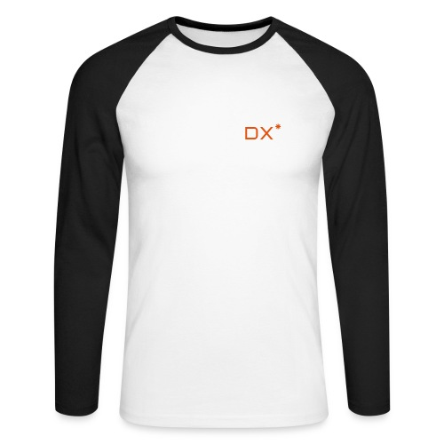 Mens Long Sleeve DX Shirt  - Men's Long Sleeve Baseball T-Shirt