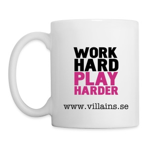 Work hard Play harder - Mug
