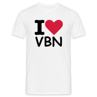T-Shirts ~ Men's T-Shirt ~ I love VBN - Men