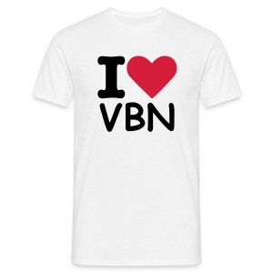I love VBN - Men - Men's T-Shirt