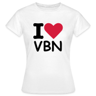 T-Shirts ~ Women's T-Shirt ~ I love VBN - Women