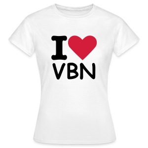 I love VBN - Women - Women's T-Shirt