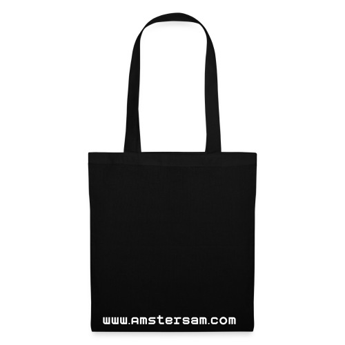 'AmsterSam' Bag  Black/White - Tote Bag
