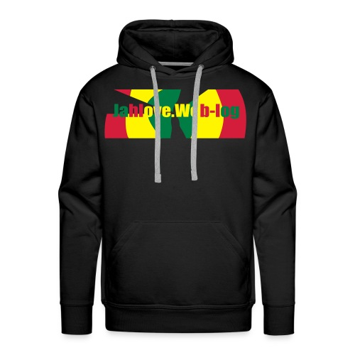 Men: JahLove.Web-Log 2 sweater - Men's Premium Hoodie