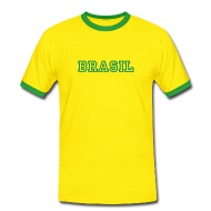 T-Shirts ~ Men's Ringer Shirt ~ Brazil Tee