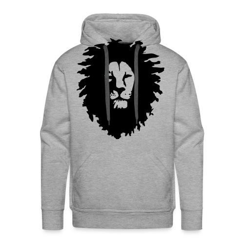 Men: Lion Of Judah Face sweater - Men's Premium Hoodie