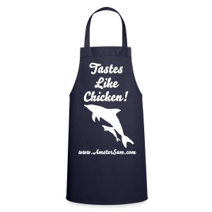 'AmsterSam' Apron 'Tastes like Chicken!' Dophin.  - Cooking Apron
