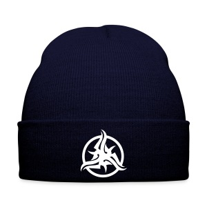 Blue Tribal Beanie - Winter Hat