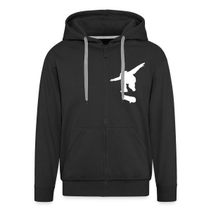 Skate Hoodie with zipper - Men's Premium Hooded Jacket