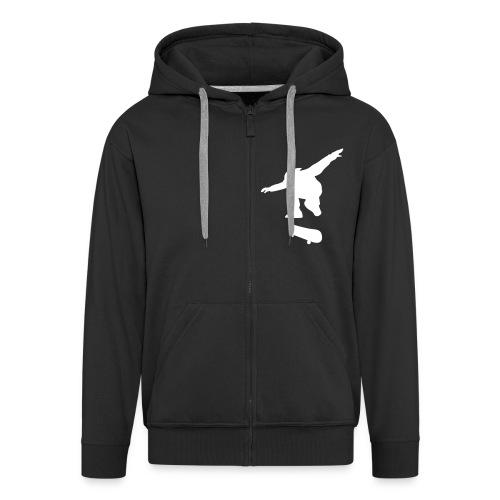 Skate Hoodie with zipper - Men's Premium Hooded Jacket