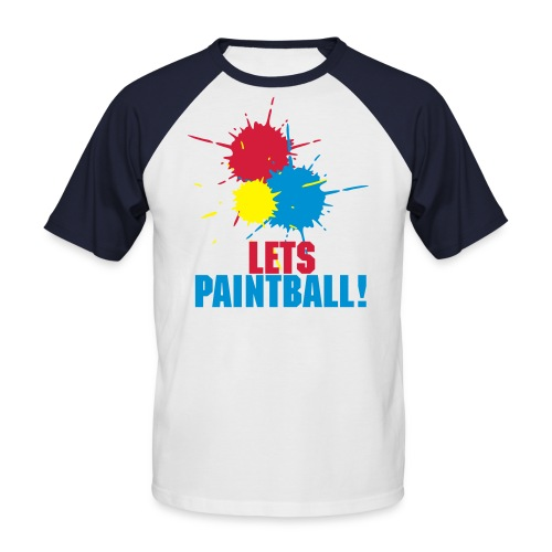 Paintball Shirt - Men's Baseball T-Shirt