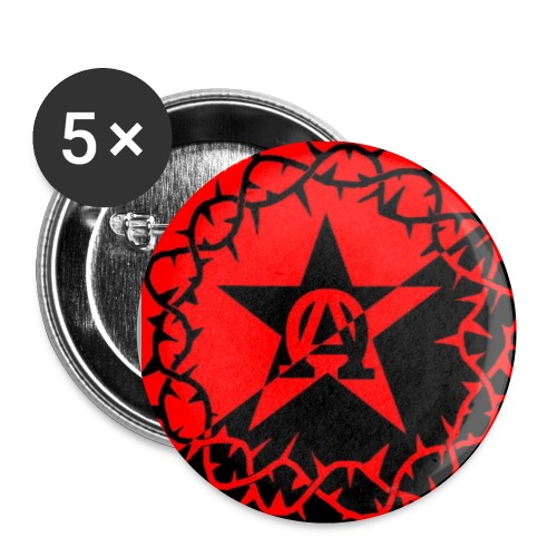 AnarChrist - Badge petit 25 mm