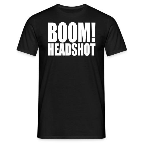 nOOb Headshot! - Men's T-Shirt
