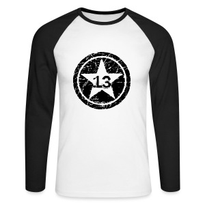 Big Star 13 - Men's Long Sleeve Baseball T-Shirt