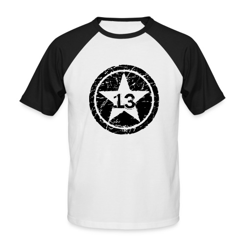 Big Star 13 - Men's Baseball T-Shirt