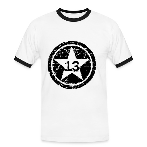 Big Star 13 - Men's Ringer Shirt