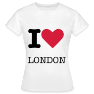 Tee shirts ~ Tee shirt Femme ~ I love London
