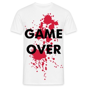 game over homme blanc - T-shirt Homme
