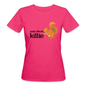Nuts About Killie - Women's Organic T-shirt